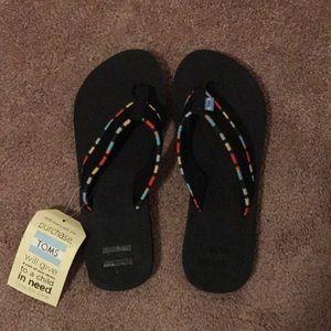 Toms women's solana flip flops